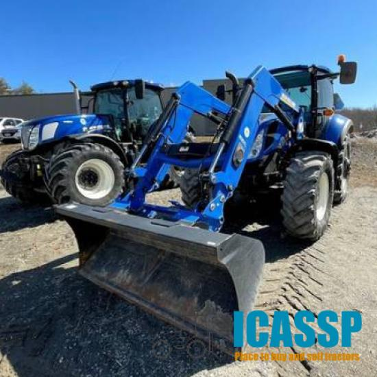 Used 2016 New Holland T5.120 for Sale