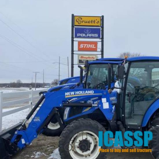 Used 2013 New Holland T4.75 in Potter, Wisconsin