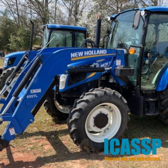 2015 New Holland T4.75 POWERSTAR for Sale