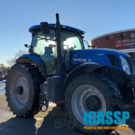 Used 2015 New Holland T7.270 for Sale in Vermont