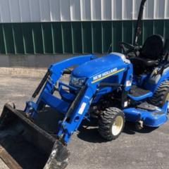 2018 New Holland Workmaster 25S