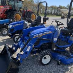 2019 New Holland WORKMASTER 25S